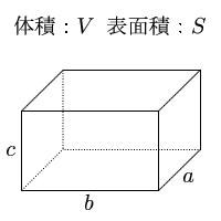 縦・横・高さを入力し「直方体 ... : 面積の単位換算 : すべての講義
